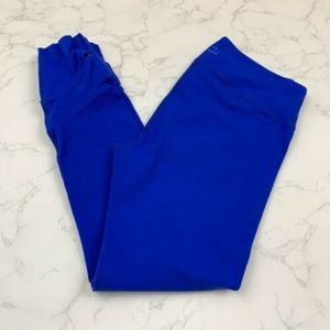 Beyond Yoga Blue Ankle Length Cut Out Leggings